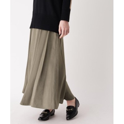 ZAMPA(ザンパ) サテンマキシマーメイドスカート