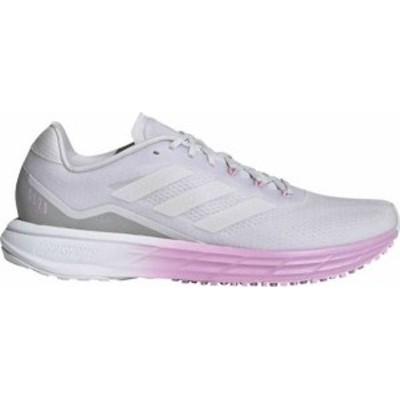 アディダス レディース スニーカー シューズ adidas Women's SL20.2 Running Shoes White/Purple
