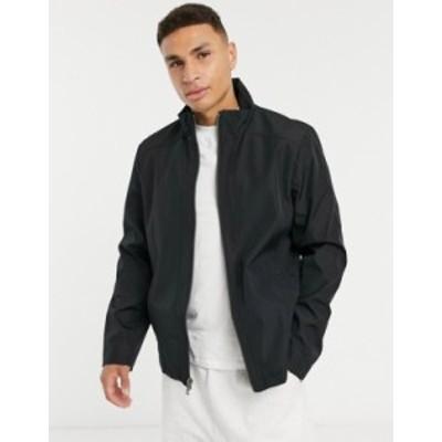 カルバンクライン メンズ ジャケット・ブルゾン アウター Calvin Klein lightweight jacket in black Black
