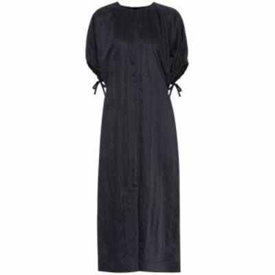 ジル サンダー Jil Sander レディース ワンピース ワンピース・ドレス Textured midi dress Dark Blue