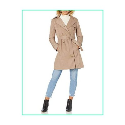 Cole Haan Women's Classic Belted Trench Coat, Dune, X-Large並行輸入品