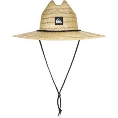 クイックシルバー メンズ 帽子 アクセサリー Quiksilver Men's Pierside Hat Natural/Black