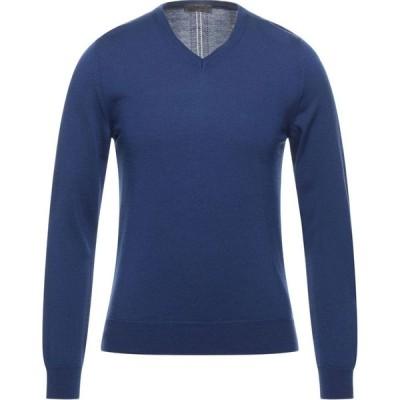 マスク +39 MASQ メンズ ニット・セーター トップス Sweater Blue