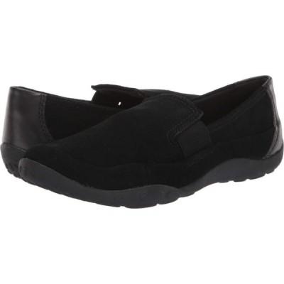 クラークス Clarks レディース ローファー・オックスフォード シューズ・靴 Haley Park Black Suede