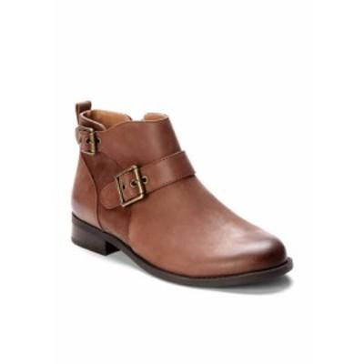 バイオニック レディース ブーツ・レインブーツ シューズ Logan Ankle Boot Dark Brown