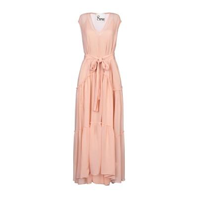 8PM ロングワンピース&ドレス ローズピンク S レーヨン 100% ロングワンピース&ドレス