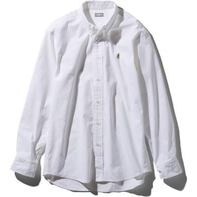 ザ・ノース・フェイス [THE NORTH FACE] ロングスリーブヒムリッジシャツ(メンズ) [L/S Him Ridge Shirt] (W)ホワイト NR11955-W