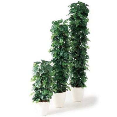 ヒメモンステラヘゴ-DX W35×H90cm 98653 アーティフィシャルグリーン 人工観葉植物 鉢付きグリーン
