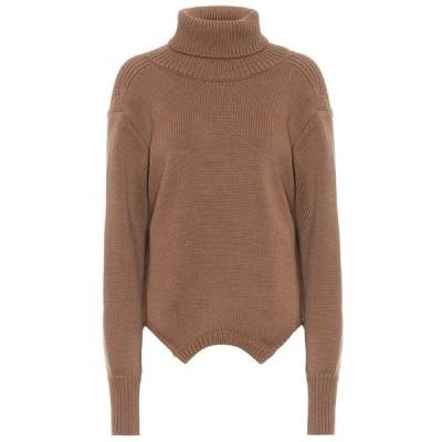 モンス Monse レディース ニット・セーター トップス Merino wool turtleneck sweater Taupe