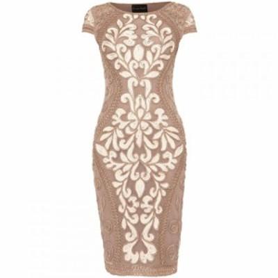 フェイズ エイト Phase Eight レディース ワンピース ワンピース・ドレス Predy Tapework Dress Cream