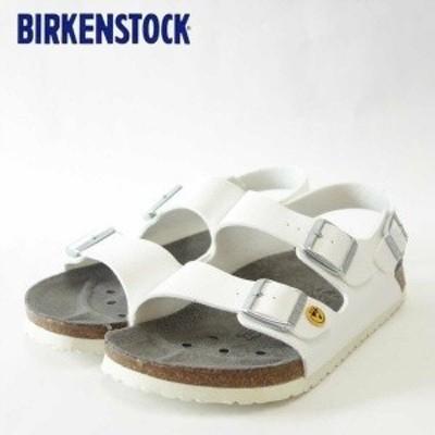 シューズ ファッション サンダル BIRKENSTOCK ビルケンシュトック ホワイト プロフェッショナル ミラノ ESD(帯電消散機能付き) (レデ