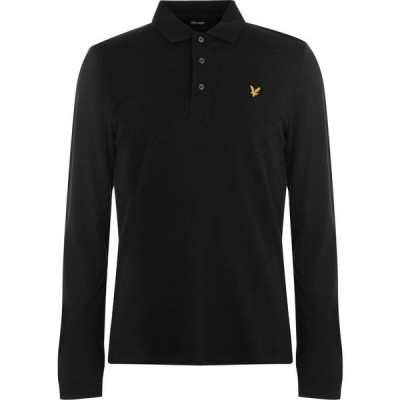 ライル アンド スコット Lyle and Scott メンズ ポロシャツ トップス Sleeve Polo Black