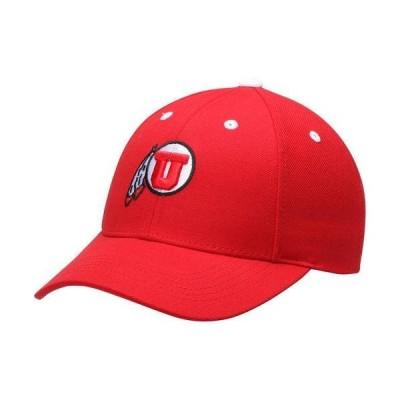 メンズ スポーツリーグ アメリカ大学スポーツ Men's Top of the World Red Utah Utes Conference Adjustable Hat - OSFA 帽子