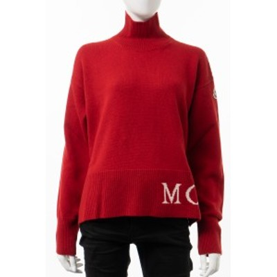 モンクレール MONCLER セーター ニット タートルネック ハイネック LUPETTO 457 レッド レディース (9F71700 A9564) 2020AW_SALE
