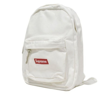 SUPREME 20AW Canvas Backpack キャンバス バックパック ホワイト (アメリカ村店) 201206