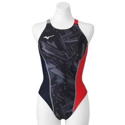 競泳練習用エクサースーツUP ミディアムカット レディース MIZUNO ミズノ スイム 競泳水着 エクサースーツ (N2MA0761)