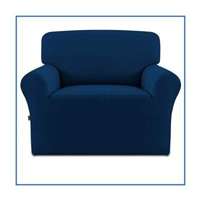 【新品】Easy Going ワンピースソファースリップカバー Chair ブルー【並行輸入品】