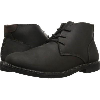 ナンブッシュ Nunn Bush メンズ ブーツ チャッカブーツ シューズ・靴 Lancaster Plain Toe Chukka Boot Black Leather