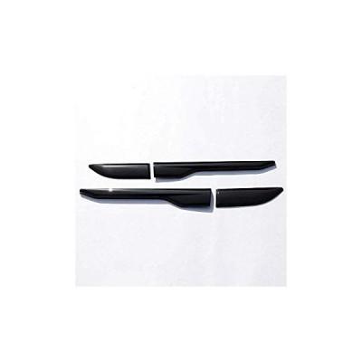 送料無料 TongSheng ABS Chrome Side Door Fender Air Vent Outlet Trim Sticker 4pc