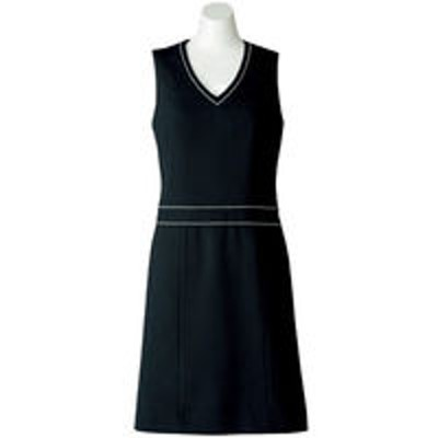 ボンマックスボンマックス BONOFFICE ジャンパースカート ブラック 5号 AO5800-16 1着(直送品)