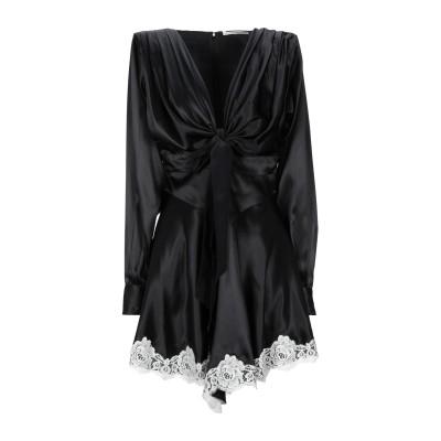 アレッサンドラ・リッチ ALESSANDRA RICH ミニワンピース&ドレス ブラック 40 シルク 100% / コットン / ナイロン ミニワ