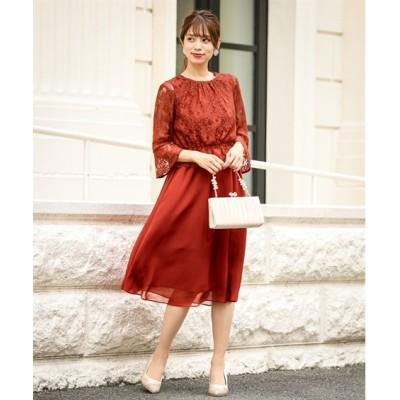 【結婚式。お呼ばれ。二次会】ウエストペプラムレースブラウス付き2WAYワンピースドレス<大きいサイズ有> ,スマイルランド, 【謝恩会・パーティドレス】Dress