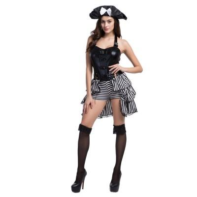 ハロウィン 女海賊 コスプレ 衣装 大人用 コスチューム 仮装 舞台服 イベント 学園祭 2着以上送料無料