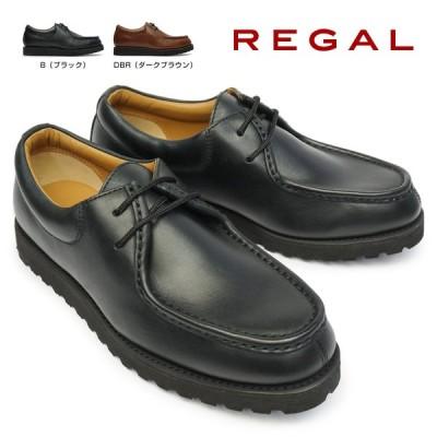 リーガル 靴 メンズ イングリッシュモカ 56WR 2アイレット モカシン ワークシューズ
