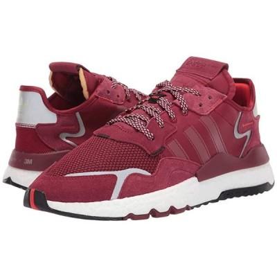 アディダス オリジナルス Nite Jogger メンズ スニーカー 靴 シューズ Collegiate Burgundy/Collegiate Burgundy/Footwear White