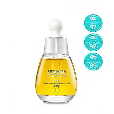 [MIGUHARA] Ultra Whitening Perfect Ampoule 20ml /