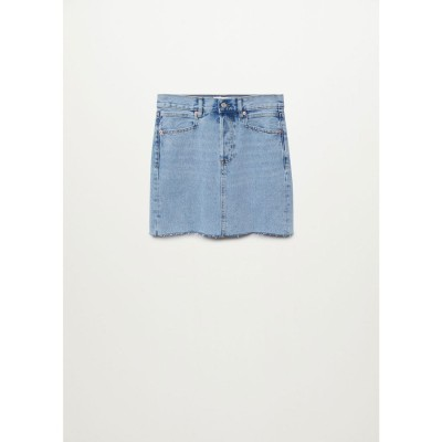 ミニスカート .-- RACHEL (オープンブルー)