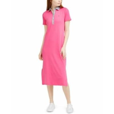 トミー ヒルフィガー レディース ワンピース トップス T-Shirt Dress Dahlia