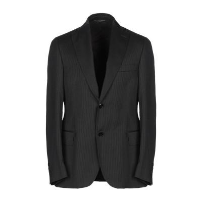 メッサジェリエ MESSAGERIE テーラードジャケット スチールグレー 48 バージンウール 100% テーラードジャケット