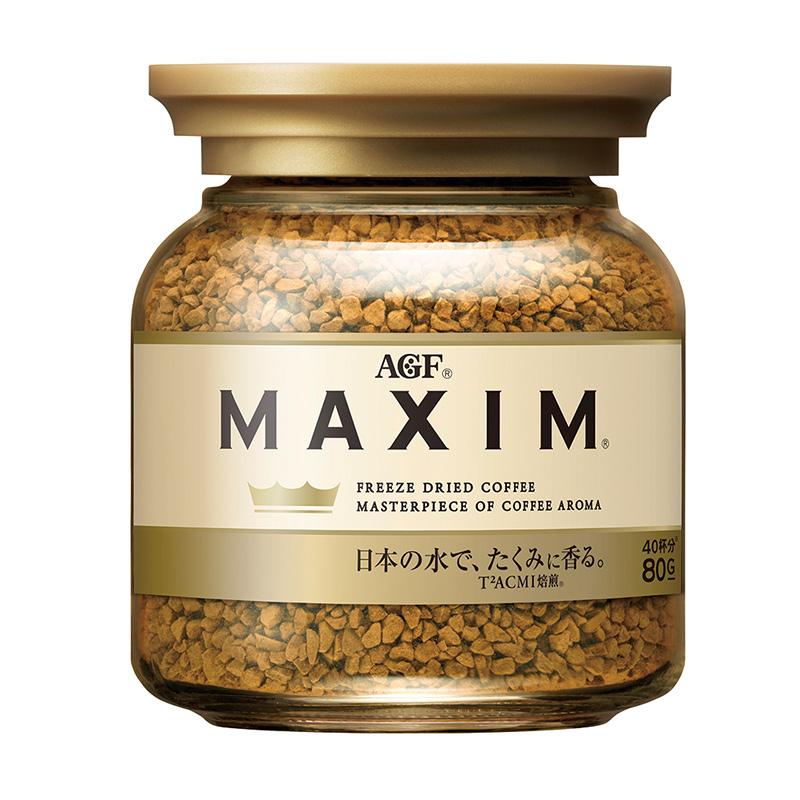 AGF Maxim濃郁即溶咖啡-金罐