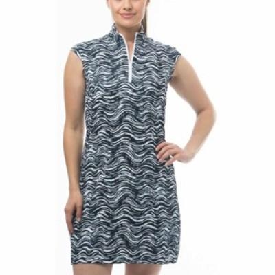 サン ソレイユ SanSoleil レディース ワンピース ノースリーブ ワンピース・ドレス San Soleil Solstyle Cool Sleeveless Dress On Safar