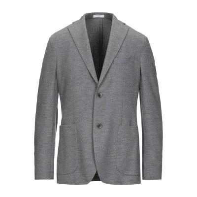 ボリオリ BOGLIOLI テーラードジャケット グレー 48 バージンウール 100% テーラードジャケット