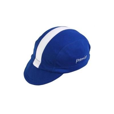 Premier サイクルキャップ ブルー X ホワイトライン 2700180