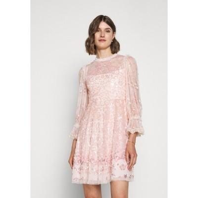 ニードルアンドスレッド ワンピース レディース トップス PATCHWORK DRESS - Cocktail dress / Party dress - ballet slipper/pink