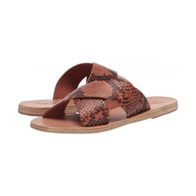 Ancient Greek Sandals レディース 女性用 シューズ 靴 サンダル Thais - Python Tampa