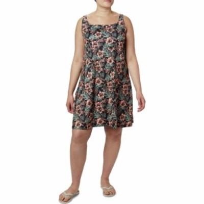 コロンビア Columbia レディース ワンピース 大きいサイズ ワンピース・ドレス Plus Size Freezer III Dress Black Vacation Vibes
