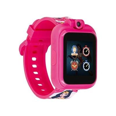 iTouch PlayZoom ワンダーウーマン スマートウォッチ キッズ用 ピンク WONDER WOMAN(並行輸入品)