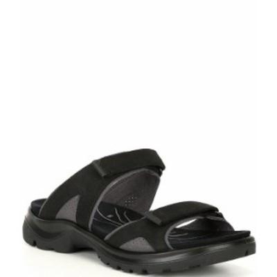 エコー レディース サンダル シューズ Yucatan Slide Sandals Black