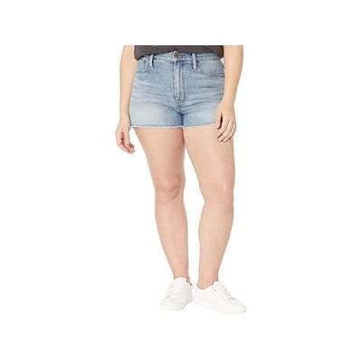 Madewell The Perfect Jean Short in Balsam Wash: TENCEL Denim Edition レディース ショートパンツ ズボン 半ズボン Balsam Wash