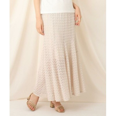 Couture Brooch/クチュールブローチ クロシェマーメイドスカート アイボリー(004) 38(M)