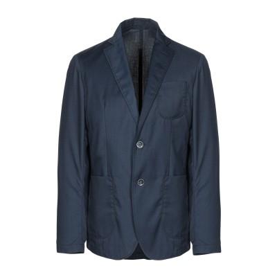 ZEROSETTANTA STUDIO テーラードジャケット ダークブルー 54 ポリエステル 65% / レーヨン 35% テーラードジャケット