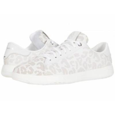 Cole Haan コールハーン レディース 女性用 シューズ 靴 スニーカー 運動靴 GrandPro Tennis Sneaker White Leapoard Perf【送料無料】