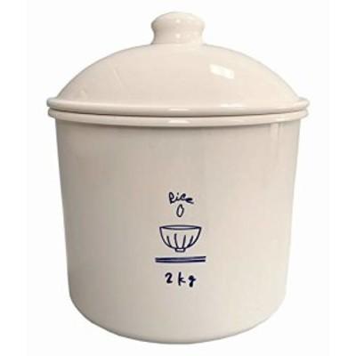素地のナカジマ Rice can アイボリー 約2300ml (日本製) 19-457382