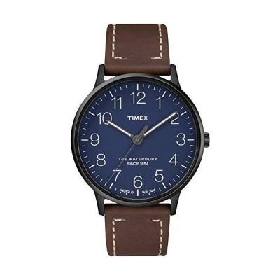 Waterbury Originals モダンメンズ腕時計 ブルー【並行輸入品】