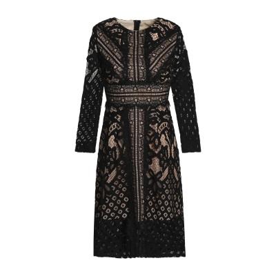 RAOUL ミニワンピース&ドレス ブラック M コットン 100% / レーヨン ミニワンピース&ドレス