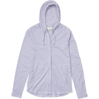 エクスオフィシオ パーカー・スウェットシャツ レディース アウター ExOfficio Women's BugsAway Lumen Full Zip Hoody Lavender Aura